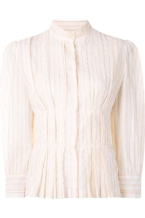 Karen Walker Gardenesque pleated blouse