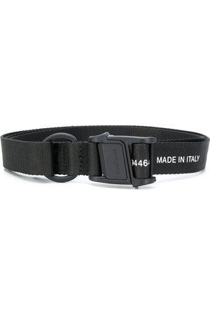Stone Island Men Belts - Logo-print tape belt