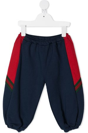 Gucci Panelled sides balloon sweatpants