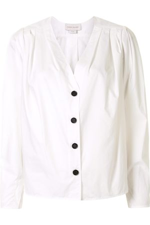 Karen Walker Arboretum V-neck cotton shirt