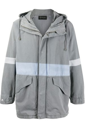 Mr & Mrs Italy Hooded cotton/linen blend jacket - Grey