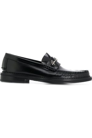 VERSACE Logo signature loafers