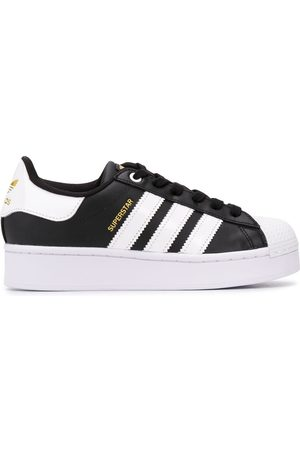 adidas Superstar flatform trainers