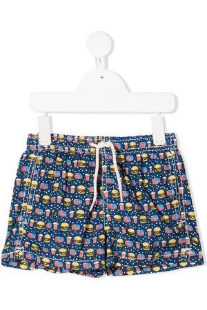 MC2 SAINT BARTH Burguer swim shorts