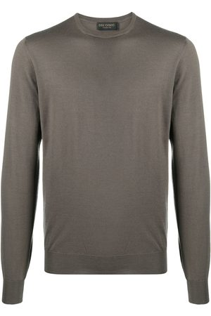 DELL'OGLIO Ribbed cuff sweater