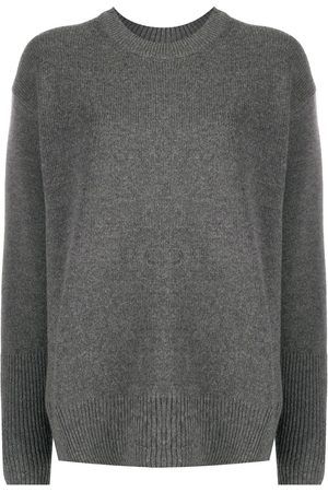 Stella McCartney Relaxed-fit crew neck jumper - Grey
