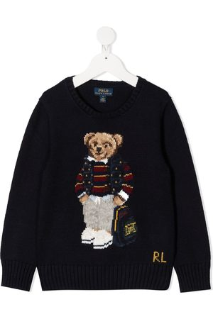 Ralph Lauren Teddy bear intarsia knit jumper