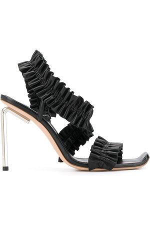 OFF-WHITE Allan ruffle sandals