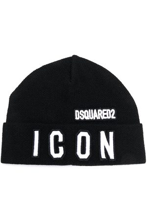 Dsquared2 Beanies - Embroidered-logo beanie