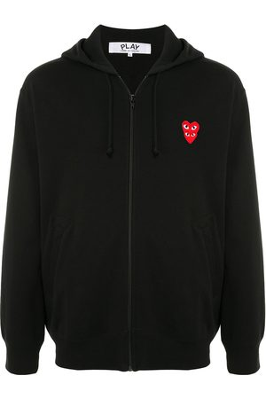 Comme des Garçons Embroidered logo hoodie
