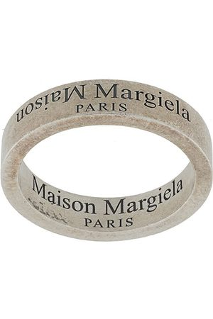 Maison Margiela Men Rings - Engraved logo ring
