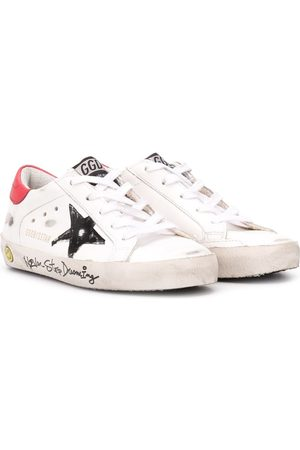 Golden Goose Superstar graffiti print sneakers