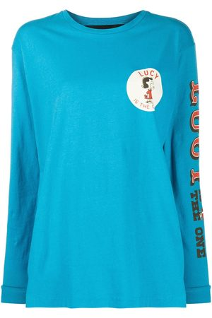 Marc Jacobs Women Long Sleeve - X Peanuts Lucy long-sleeved top