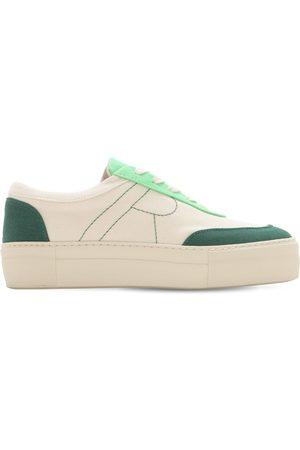 REJINA PYO Women Sneakers - 30mm Bailey Cotton Canvas Sneakers