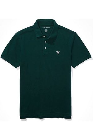 American Eagle Outfitters Super Soft Icon Pique Polo Shirt Men's XS