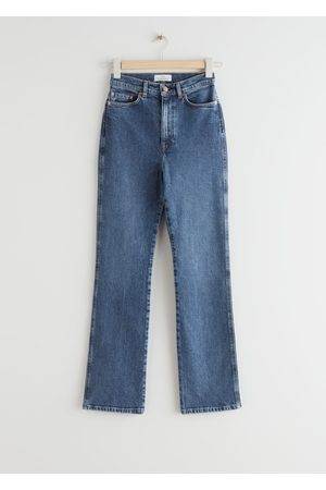 & OTHER STORIES Crush Cut Cropped Jeans