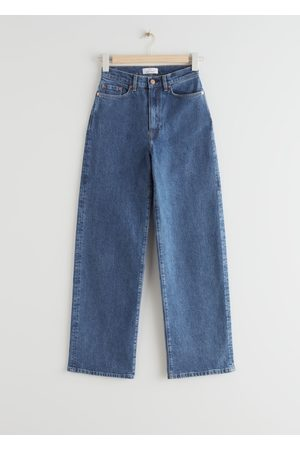 & OTHER STORIES Treasure Cut Cropped Jeans