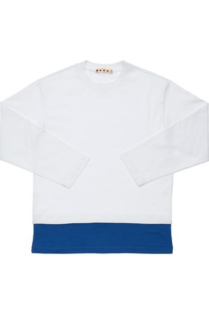 Marni Cotton Jersey T-shirt W/ Logo