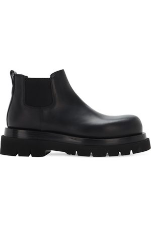 Bottega Veneta Bv Lug Leather Chelsea Mid Boots