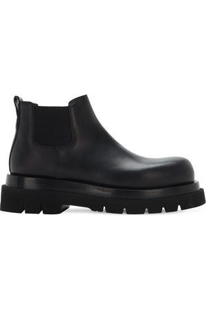 Bottega Veneta Bv Lug Leather Chelsea Mid Boots