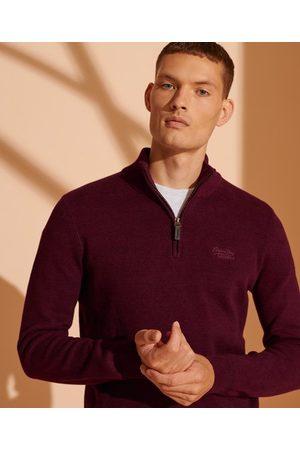 Superdry Men Sweaters - Orange Label Henley Jumper