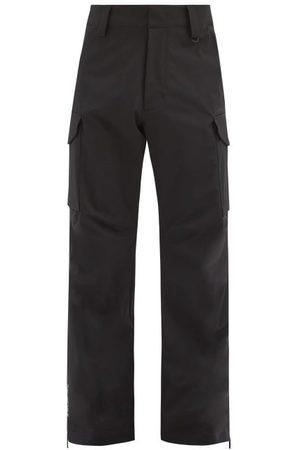 Moncler Grenoble Men Ski Suits - Patch-pocket Technical-shell Ski Trousers - Mens
