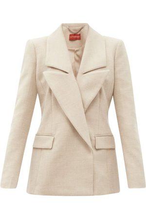 Altuzarra Women Blazers - Eileen Double-breasted Wool-blend Jacket - Womens