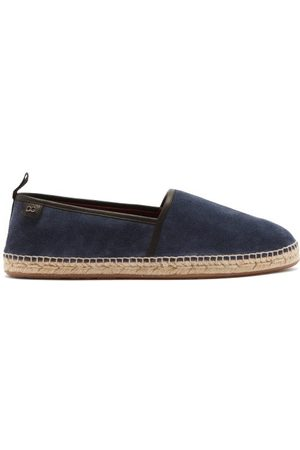 Dolce & Gabbana Leather-piped Suede Espadrilles - Mens