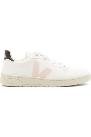 Veja V-10 Leather Trainers - Womens