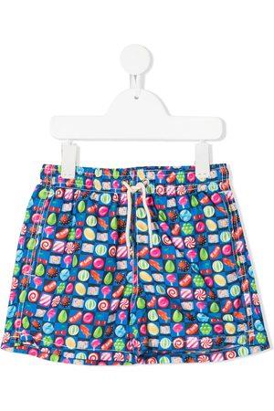 MC2 Saint Barth Kids Boys Swim Shorts - Candy swim shorts