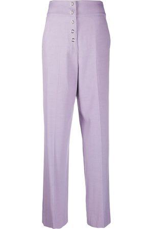 Roberto Cavalli High-waisted wide leg trousers