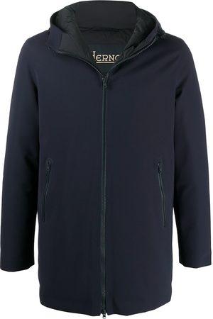 HERNO Padded hooded parka coat