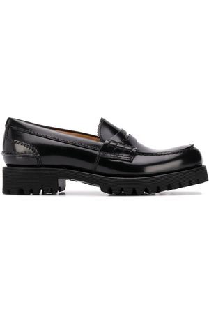 Church's Cameron brushed leather loafers