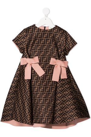 Fendi FF print dress
