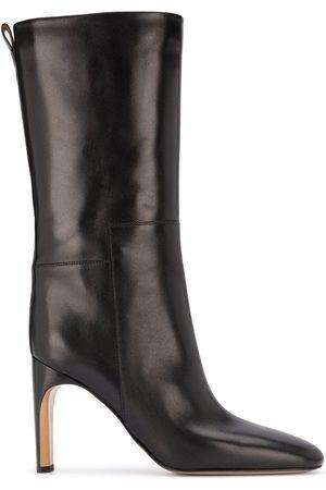 Jil Sander Women Heeled Boots - Block-heel pull-on boots