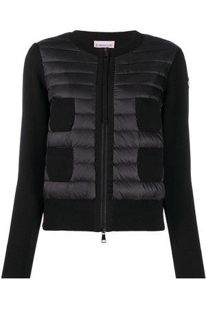 Moncler Padded panel knit jacket