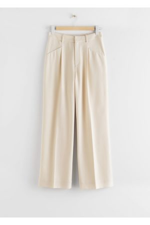 & OTHER STORIES Duo Pleat High Rise Trousers