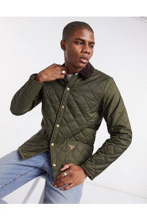 Barbour Beacon Starling quilted jacket in olive