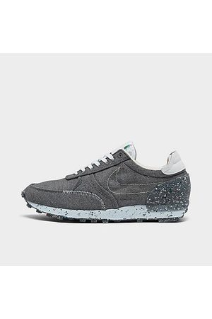 Nike Men Casual Shoes - Men's DBreak-Type Recycled Canvas Casual Shoes in Grey/Iron Grey Size 8.5