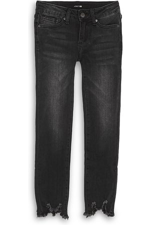 Joes Jeans Girls' The Rocker Ankle Mid-Rise Skinny Jeans - Big Kid