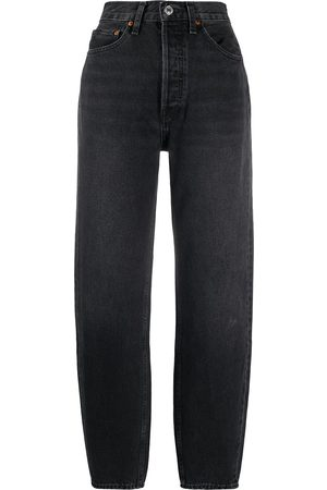 RE/DONE Women High Waisted - High waisted slim-fit trousers