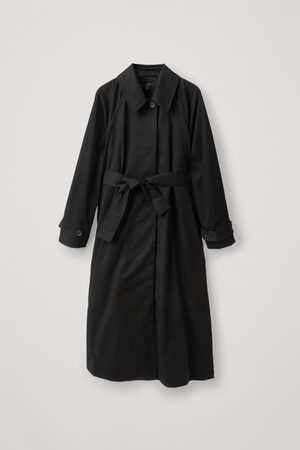 COS ORGANIC COTTON OVERSIZED TRENCH COAT
