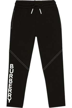 Burberry Logo cotton jersey trackpants
