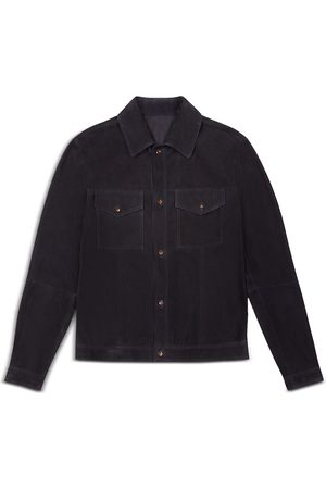 Bally Leather Regular Fit Shirt Jacket