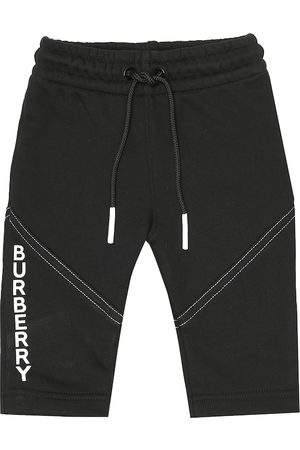 Burberry Baby cotton-jersey trackpants