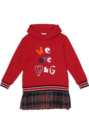 Dolce & Gabbana Cotton-blend jersey dress