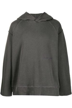 AMBUSH Stitched logo hoodie - Grey