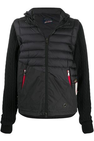GREG LAUREN Layered padded jacket