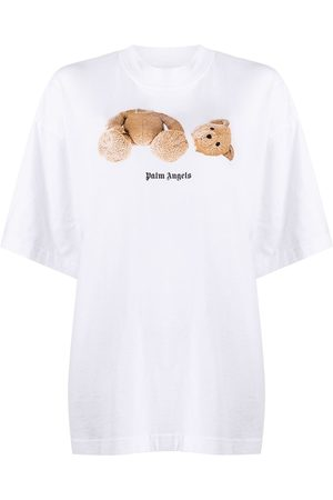 Palm Angels Women T-shirts - Bear Over T-shirt
