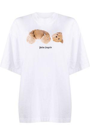 Palm Angels Women T-shirts - Bear Over T-shirt